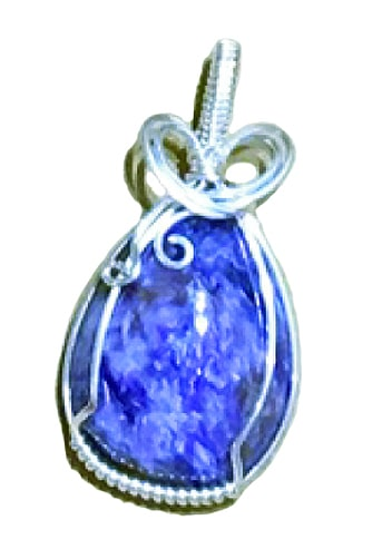 Wire wrapped cabochon pendant the artful bead turn any large bead into a wire wrapped work of art aloadofball Choice Image